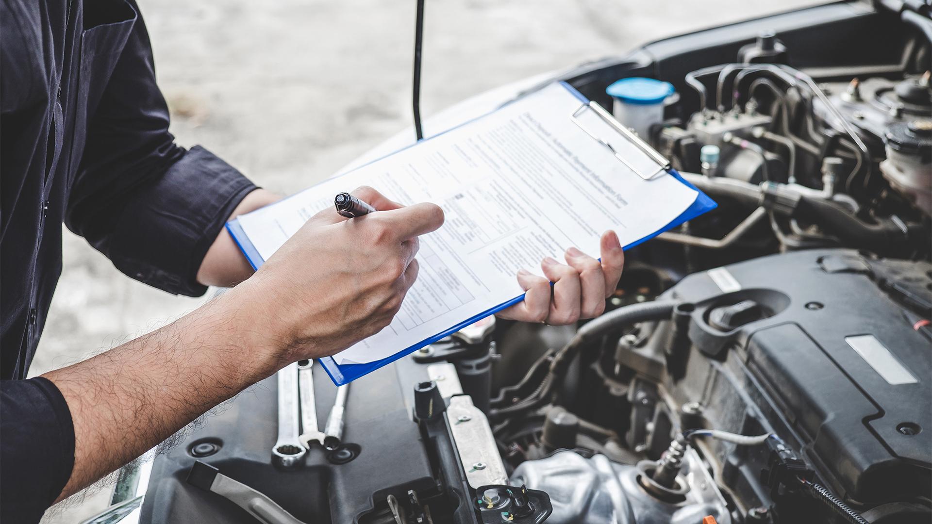 Organiza tu historial de mantenimiento de vehículos